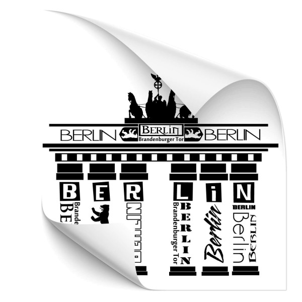 Brandenburger Tor Car Art Aufkleber - Kategorie Shop