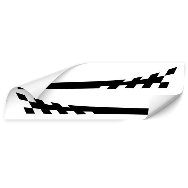 Racing Stripes Autoaufkleber - Kategorie Shop