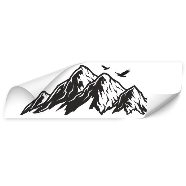 Berge - wandtattoo