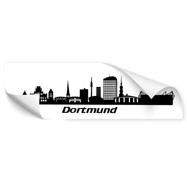 Dortmund Skyline Autoaufkleber - Skyline