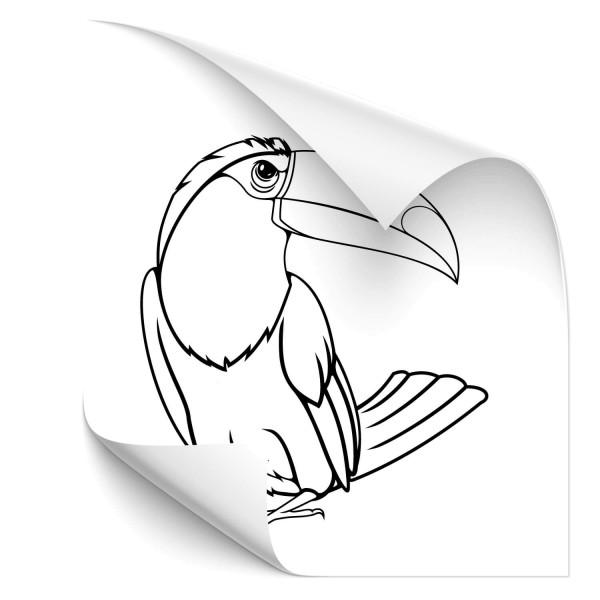 Tukan Car Art Tattoo - Adler & weitere Vögel