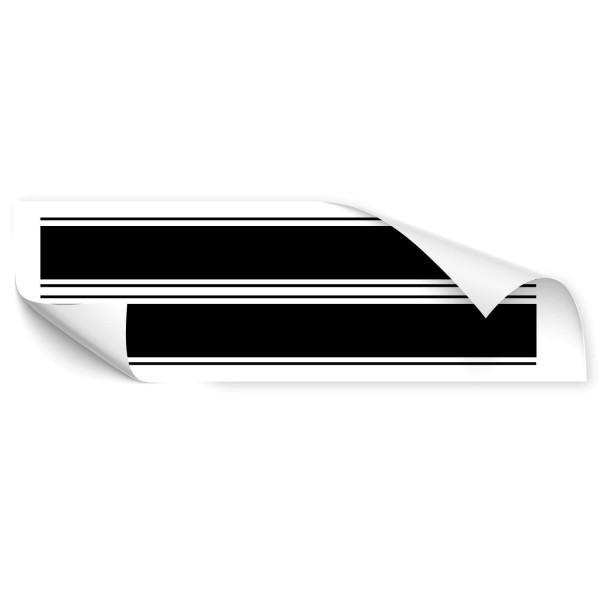 Racing Stripes Car Tattoo - Kategorie Shop