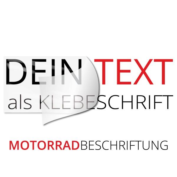 Wunschtext Motorradbeschriftung - Wunschtext