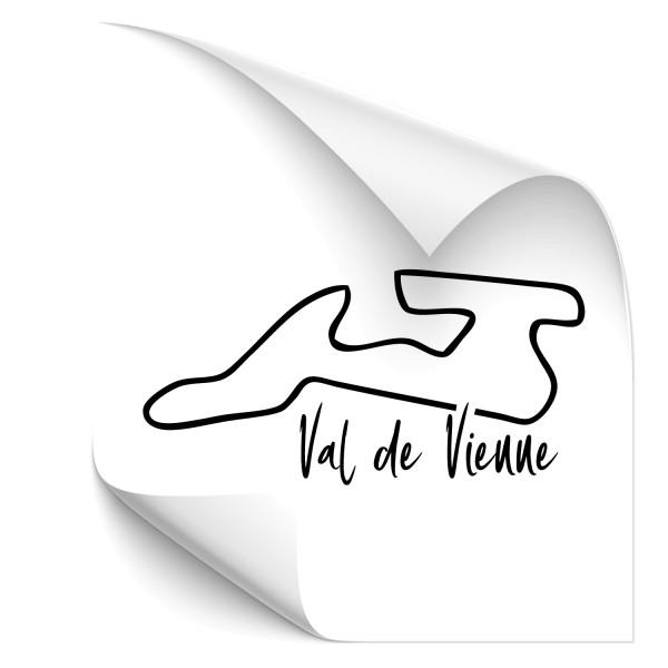 Rennstrecke - Val de Vienne Autotattoo - Kategorie Shop