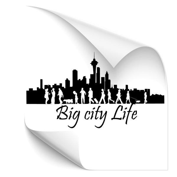 Big City Life Autosticker - natur