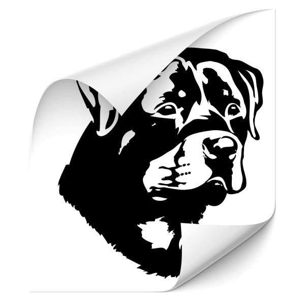 Rottweiler Hunde Heckaufkleber - Hunde