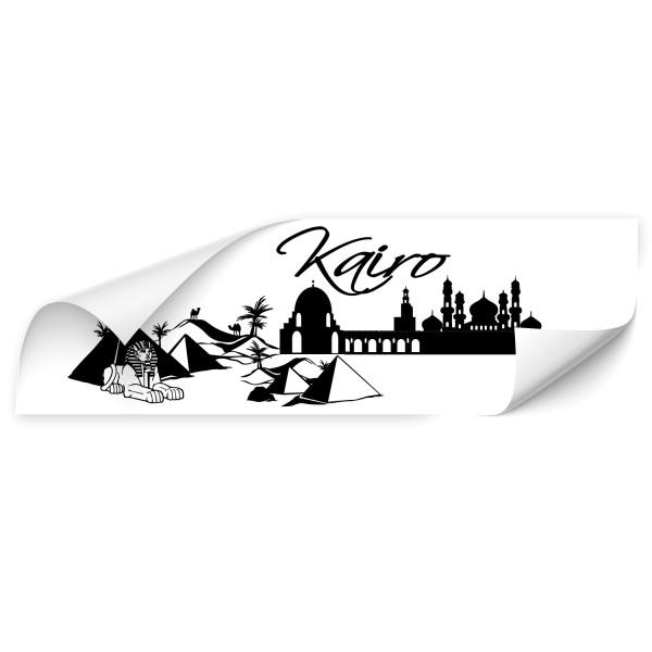 Kairo Skyline Car Art Sticker - Kategorie Shop