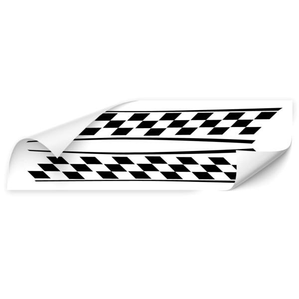 Racing Stripes Tuning Autoaufkleber - Kategorie Shop