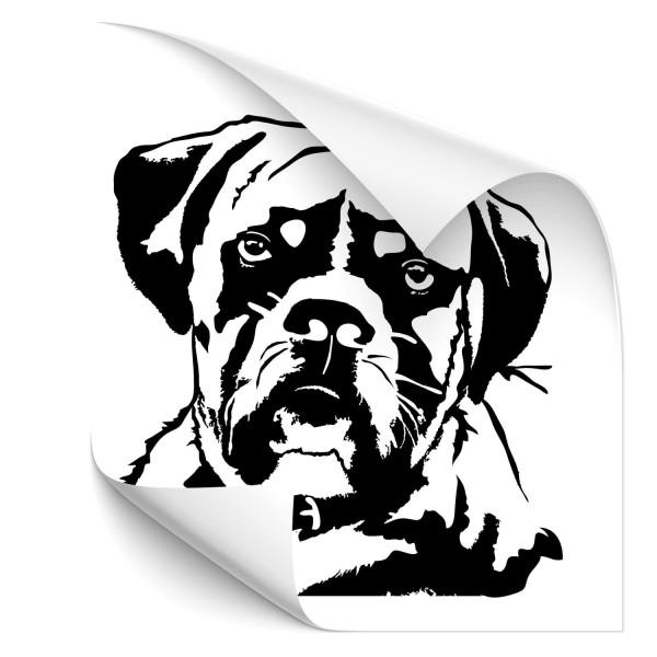 Boxer Hunde Aufkleber - Hunde