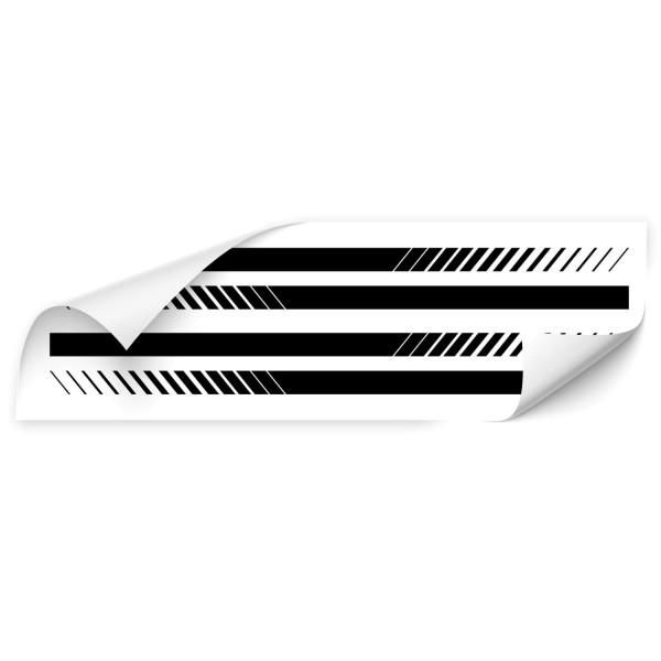 Racing Stripes Kfz Fan Aufkleber - Kategorie Shop