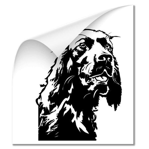 Irish Setter Auto Folienaufkleber - Hunde