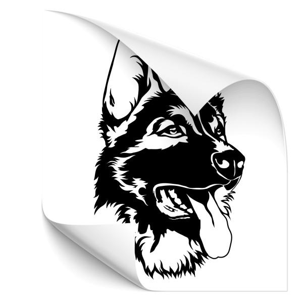 Schäferhund Hecksticker - Kategorie Shop