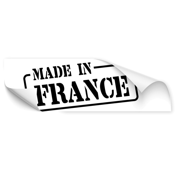 Made in France Heckscheibenaufkleber - Kategorie Shop