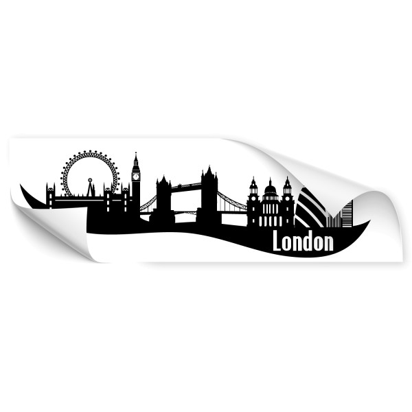 London Weltstadt Autoaufkleber - Kategorie Shop