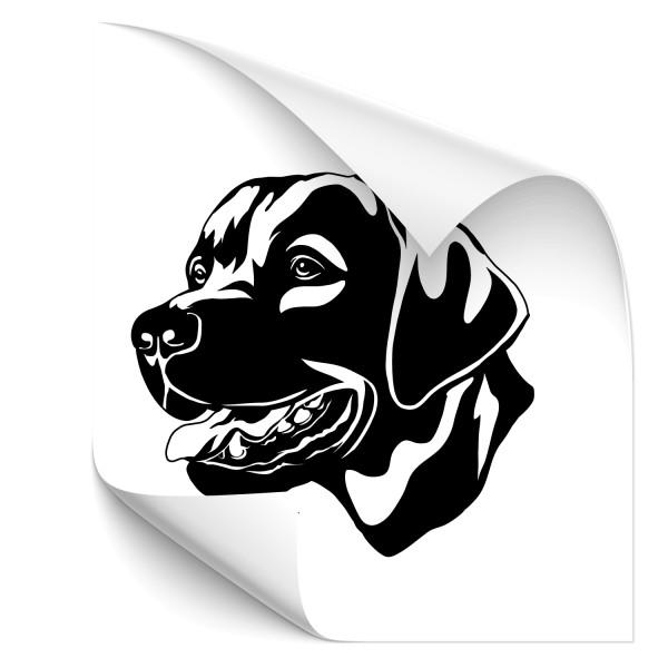 Labrador Fahrzeug Aufkleber - Kategorie Shop