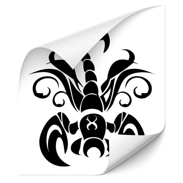 Skorpion Autoaufkleber - Kategorie Shop