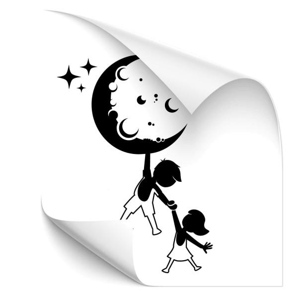 Geschwister Fahrzeugsticker - Babyaufkleber