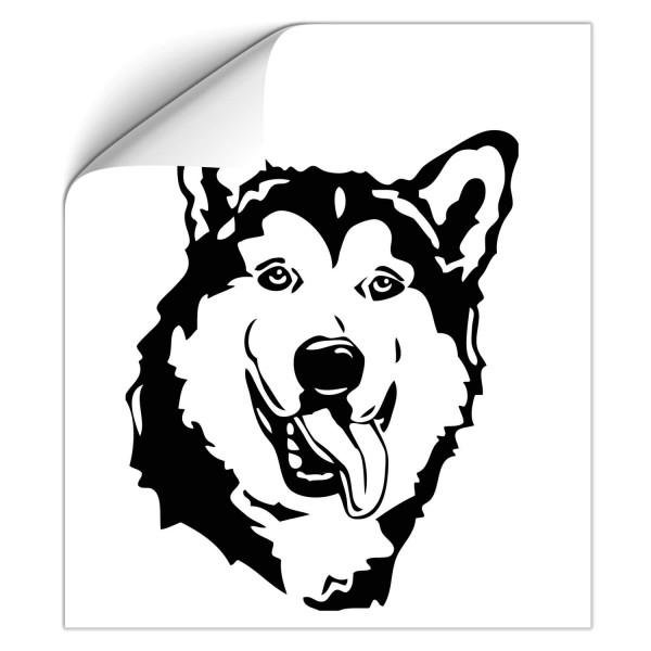 Husky Car Tattoo - Hunde