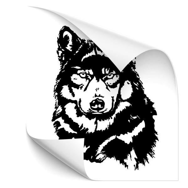 Wolf Car Art Aufkleber - wolf