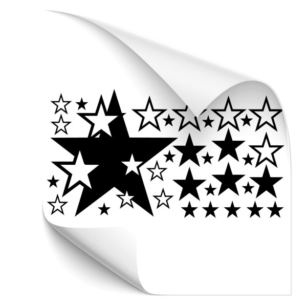 Sterne-Set Auto Tattoo - Kategorie Shop