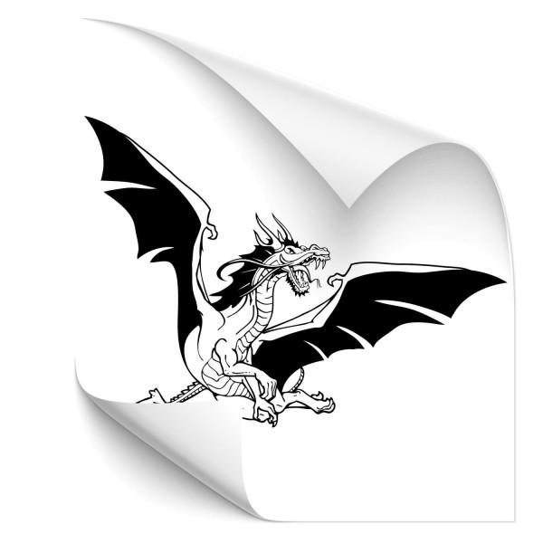 fliegende Drachen Fahrzeugsticker - märchen & Fabelwesen