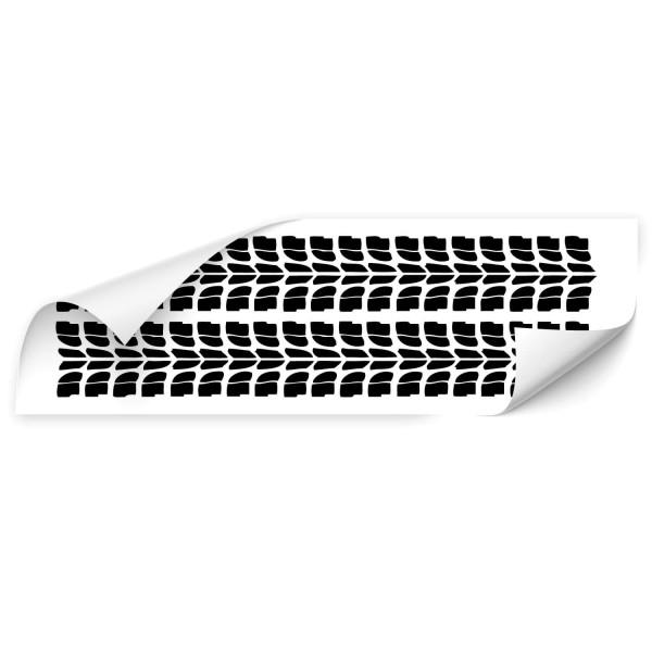 Reifenspuren Kfz Aufkleber - Kategorie Shop