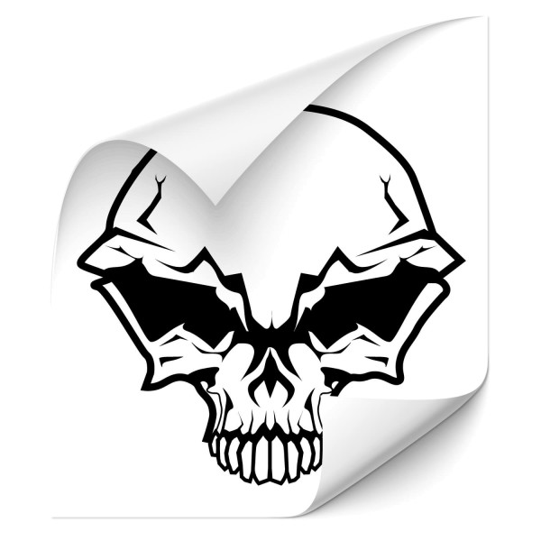 Totenschädel Auto Foliensticker - Kategorie Shop