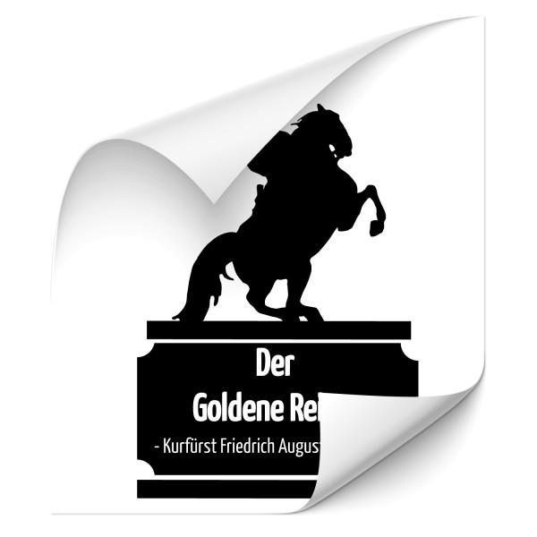 Goldener Reiter Auto Tattoo - Kategorie Shop