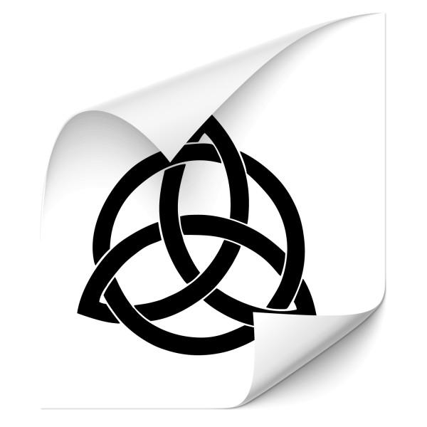 Triquetra Keltischer Knoten Car Tattoo - Kategorie Shop