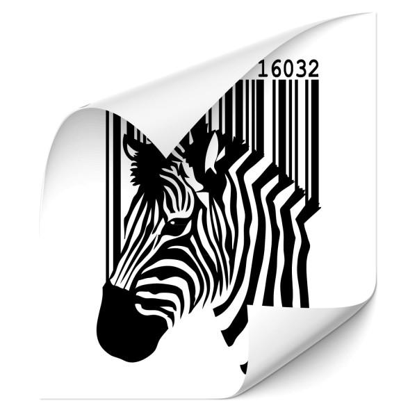 Zebra Autosticker - pferde & co
