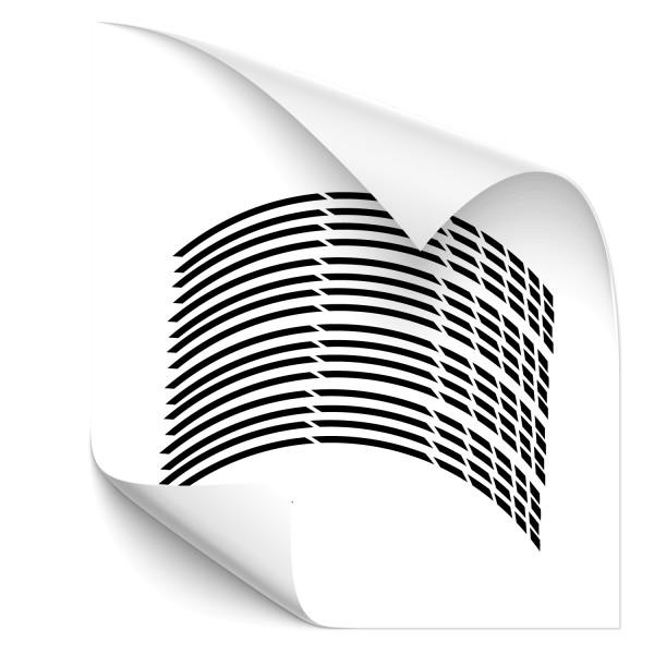 Felgenrandaufkleber GP Design - Kategorie Shop