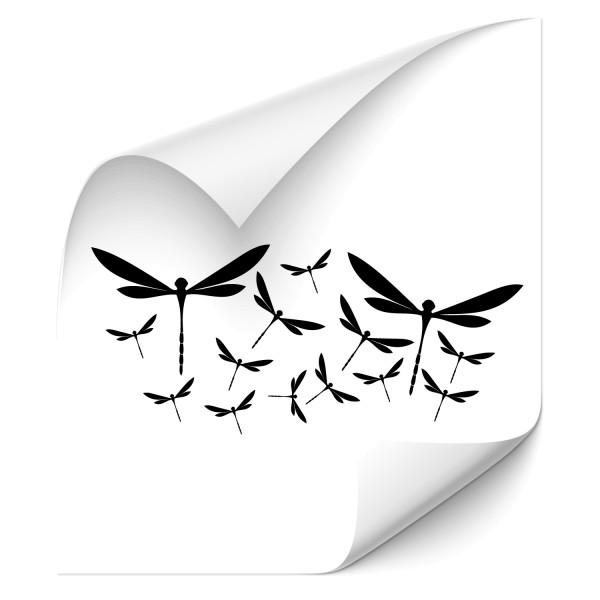 Libellen - Set Kfz Aufkleber - Kategorie Shop