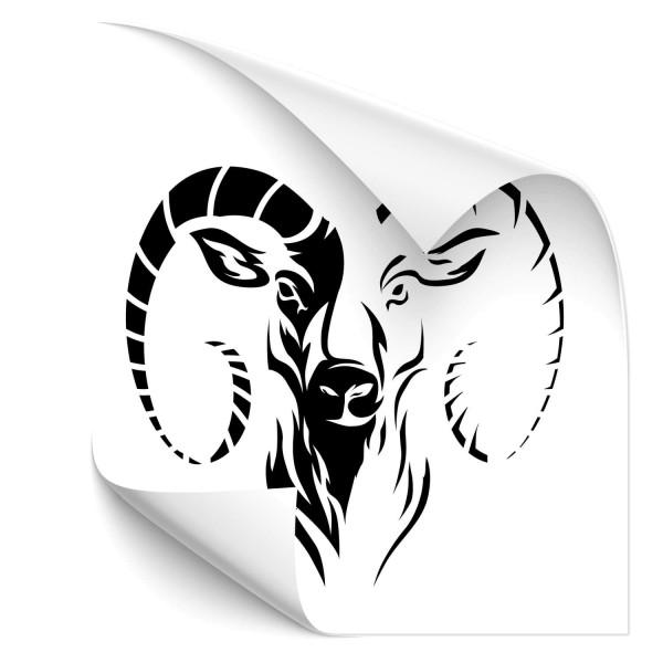Ziegenbock Auto Tattoo - pferde & co