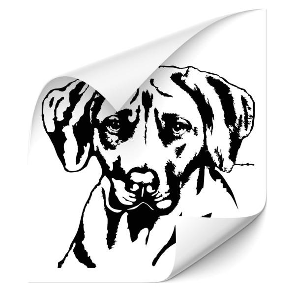 Ridgeback Auto Heckscheiben Aufkleber - Hunde