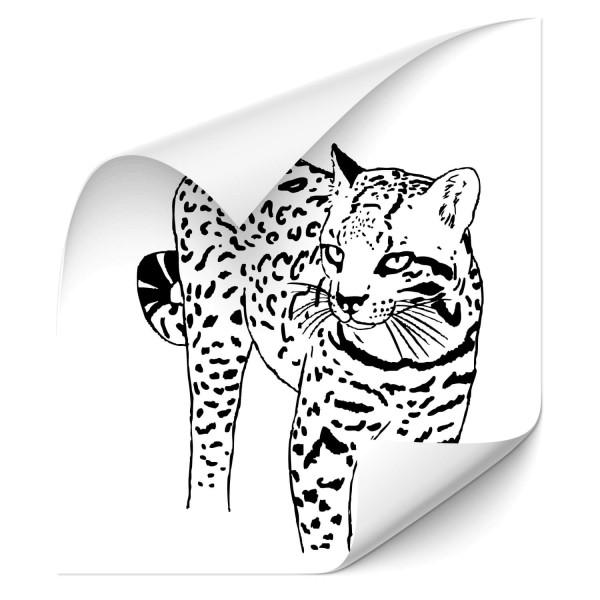Ozelot Car Art Tattoo - katzen & Co