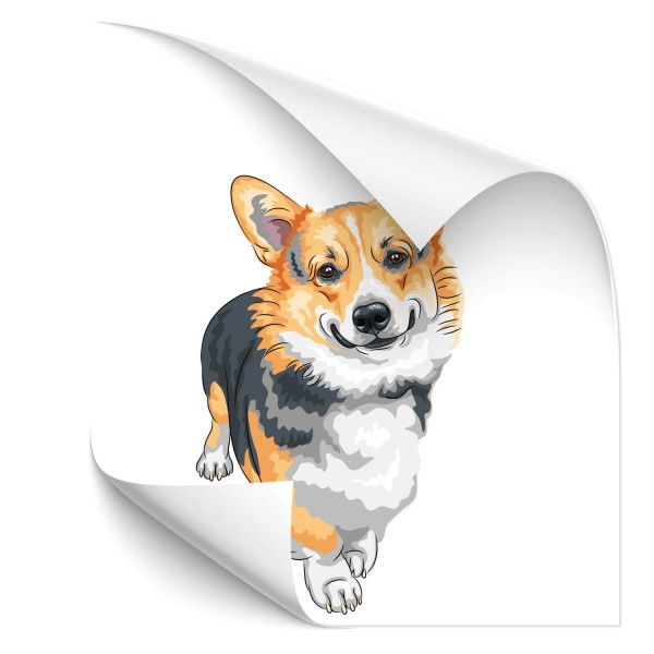 Welsh Corgi Hunde Heckaufkleber - Kategorie Shop