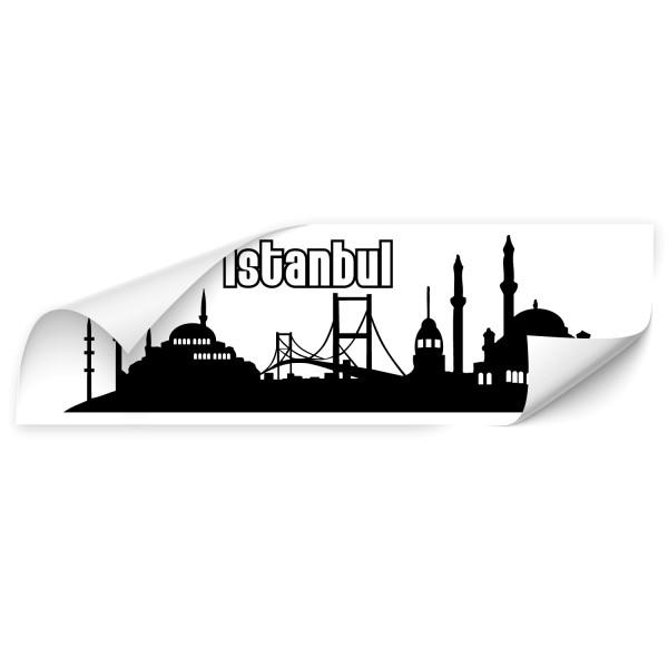 Istanbul Sillhouetten Auto Folienaufkleber - Kategorie Shop