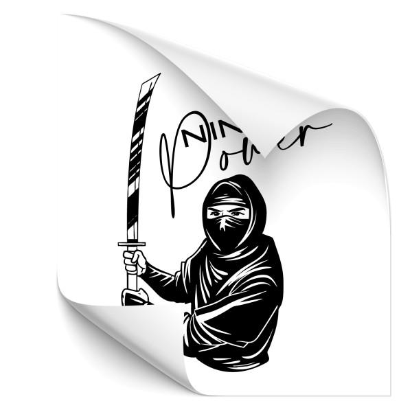 Ninja Autosticker - Religion / Kultur / Völker