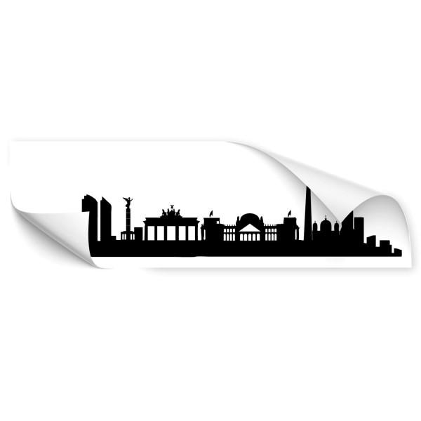 Berlin Skyline Auto Aufkleber - Skyline
