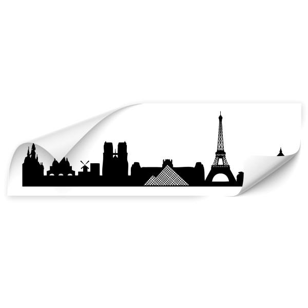 Paris Silhouetten Fahrzeug Aufkleber - Kategorie Shop