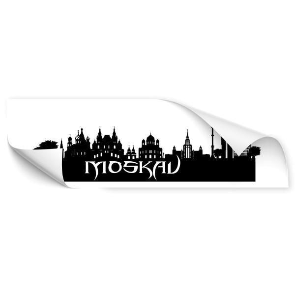 Moskau Skyline Auto Aufkleber - Kategorie Shop