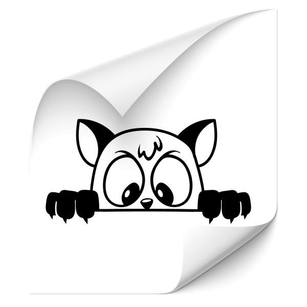 Kätzchen Autosticker - katzen & Co