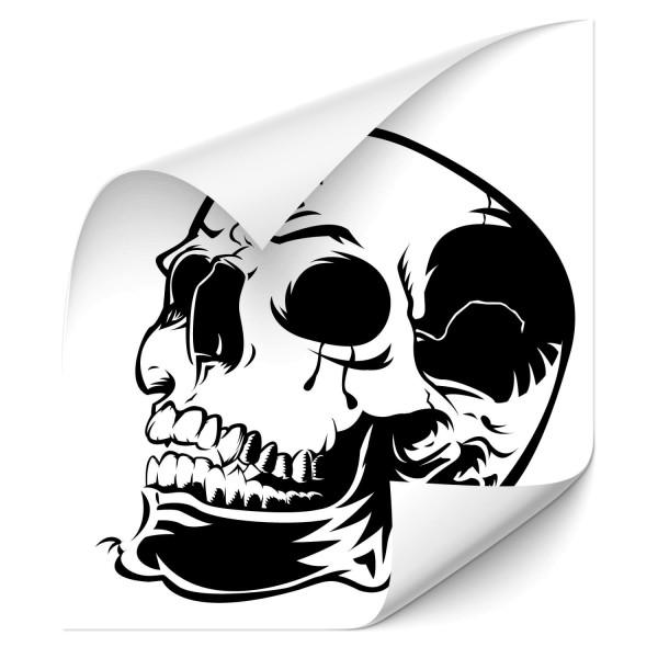 Skelett Schädel Car Tuning Sticker - Kategorie Shop