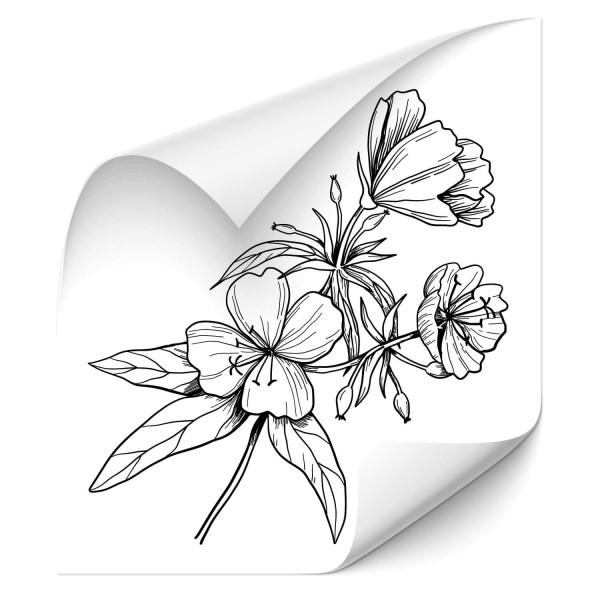 Blumen Auo Aufkleber - Kategorie Shop
