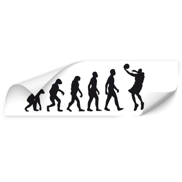 Evolution Fahrzeug Sticker - Sport