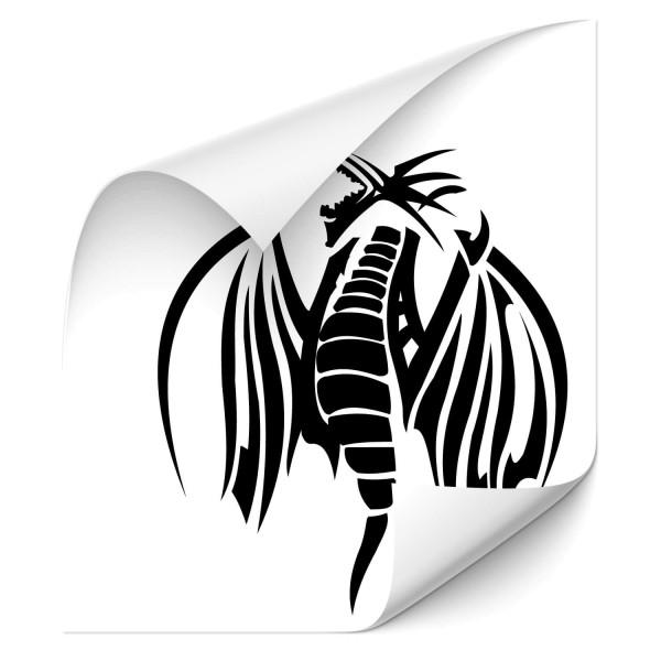 Drachen Tribal Autosticker - Kategorie Shop
