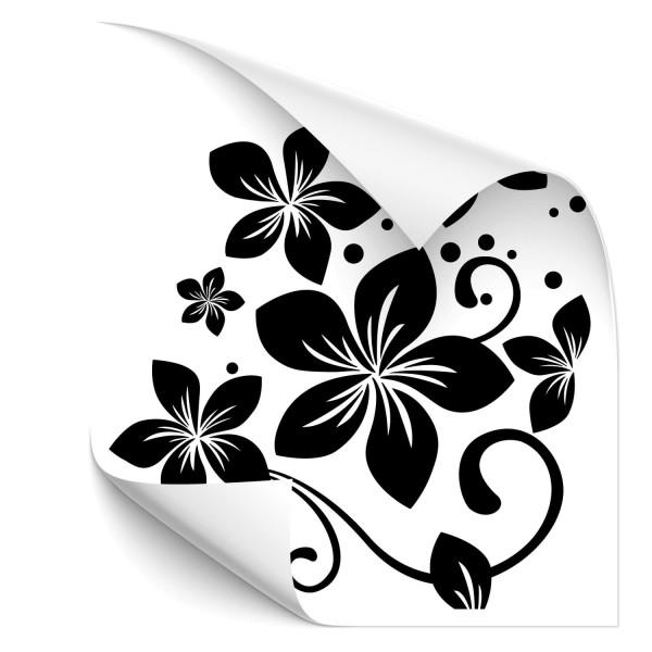 Hibiskus Blumenranken Car Sticker - Kategorie Shop