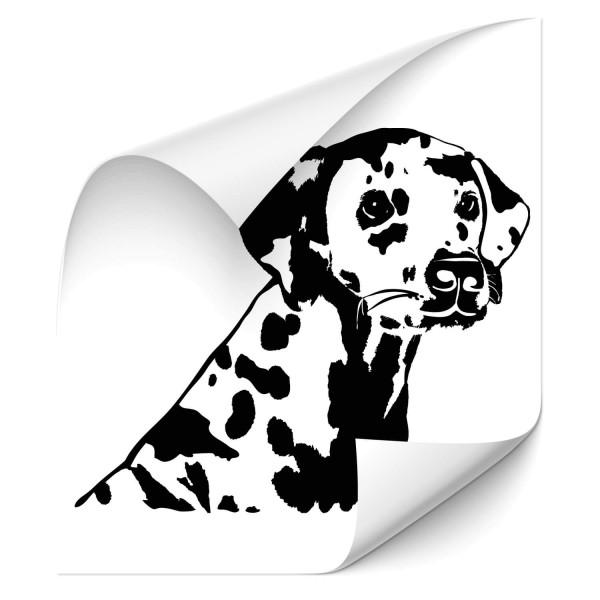 Dalmatiner Heckscheiben Sticker - Hunde