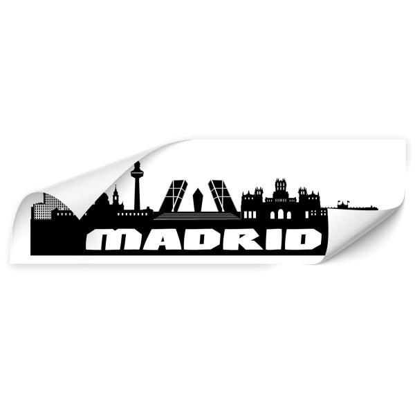 Madrid Skyline Autotattoo - Kategorie Shop
