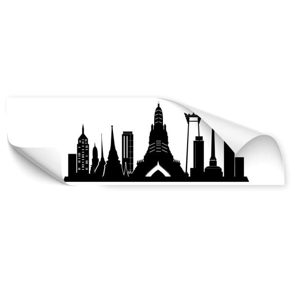 Bangkok Silhouette Car Sticker - wandtattoo